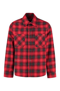 Checked flannel shirt, Checked Shirts Off-White man