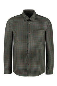Checked cotton overshirt, Checked Shirts A.P.C. man