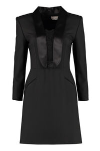Blazer dress with lace details, Mini dresses Alexander McQueen woman