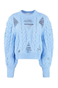 Cable knit sweater, Crew neck sweaters Stella McCartney woman