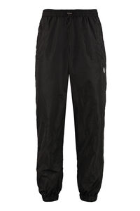 Techno fabric track pants, Track Pants Marcelo Burlon County of Milan man