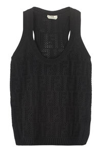Knitted top, Tanks and Camis Fendi woman