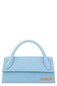 Le Chiquito Long suede handbag, Top handle Jacquemus woman