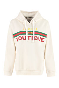 Oversize cotton hoodie, Hoodies Gucci woman