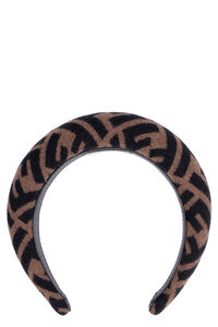 Wool blend headband, Hairs Accessories Fendi woman