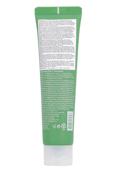 Rosemary 3-in-1 treatment conditioner, 110 ml/3.72 fl oz