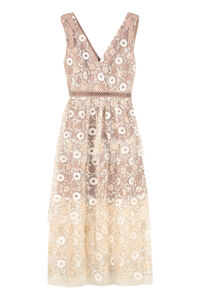 Embroidered tulle dress, Bridal dresses Self-Portrait woman