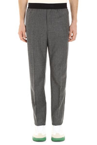 Virgin wool trousers, Casual trousers Helmut Lang man