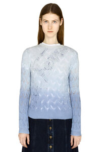 Gradient effect sweater, Crew neck sweaters L'Autre Chose woman