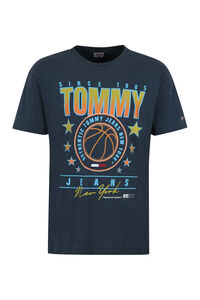 Printed cotton T-shirt, Short sleeve t-shirts Tommy Jeans man