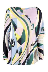 Printed long-sleeve top, Printed tops Emilio Pucci woman