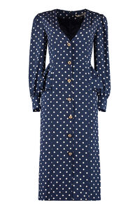 Polka-dot silk dress, Printed dresses Alessandra Rich woman