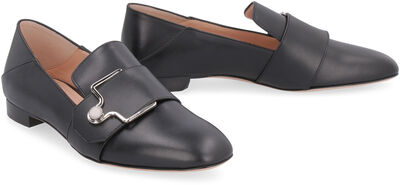 Maelle leather loafers