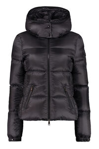 Fourmi hooded short down jacket, Down Jackets Moncler woman