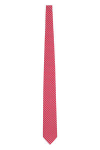 Printed silk tie, Ties Salvatore Ferragamo man
