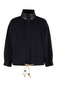 Hyden wool zipped jacket, Overcoats Nanushka man