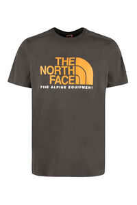 Logo print cotton T-shirt, Short sleeve t-shirts The North Face man