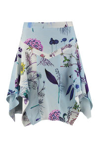 Printed silk flared skirt, Printed skirts Stella McCartney woman