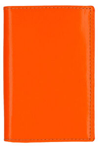 Fluo leather wallet, Wallets Comme des Garçons Wallet woman