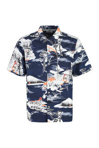 Printed short sleeve shirt, Short sleeve Shirts Universal Works man