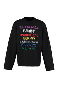Crew-neck wool sweater, Crew necks sweaters Balenciaga man