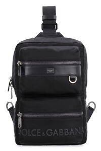 Sicilia DNA nylon backpack, Backpack Dolce & Gabbana man