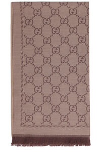 Wool GG jacquard scarf, Scarves Gucci woman