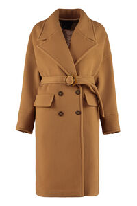 Alluvione double-breasted coat, Double Breasted Pinko woman