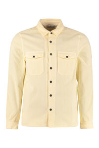 Cotton overshirt, Plain Shirts Stone Island man