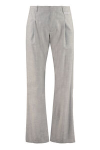 Wool straight-leg trousers, Casual trousers Off-White man