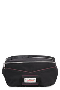 Downtown nylon belt bag with patches, Beltbag Givenchy man
