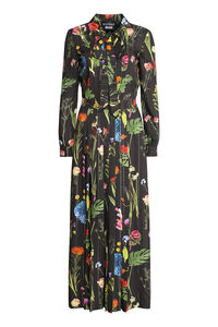 Long printed shirtdress, Maxi dresses Boutique Moschino woman