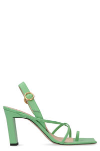 Elza leather sandals, High Heels sandals Wandler woman