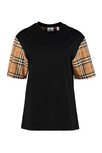 Stretch cotton T-shirt, T-shirts Burberry woman