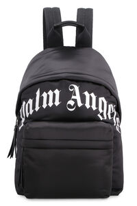 Technical fabric backpack with logo, Backpack Palm Angels man