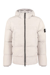 Hooded full-zip down jacket, Down jackets Stone Island man