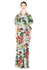 Silk printed jumpsuit, Full Length jumpsuits Dolce & Gabbana woman