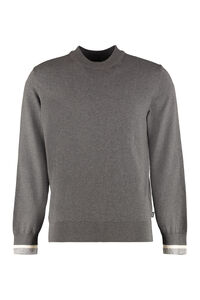 Long sleeve crew-neck sweater, Crew necks sweaters BOSS man
