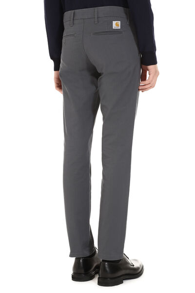 Sid stretch cotton trousers