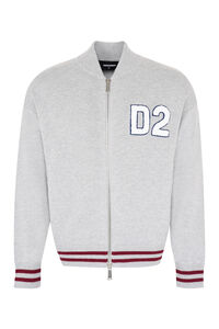 Intarsia sweater, Knitted zip throughs Dsquared2 man