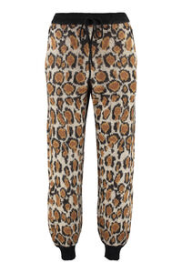 Animalier knitted trousers, Track Pants ROTATE  Birgerchristensen woman