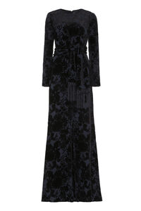Picasso devoré velvet dress, Gowns & Evening dresses Max Mara woman