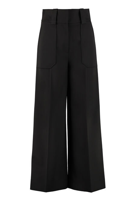 High waist palazzo pants, Wide leg pants Stella McCartney woman