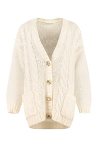 Embellished button cardigan, Cardigan Alessandra Rich woman