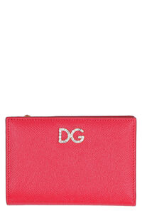 Small leather flap-over wallet, Wallets Dolce & Gabbana woman