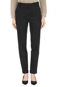 Luca cropped pinstripe trousers, Trousers suits Max Mara Studio woman