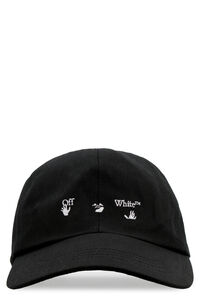 Logo embroidery baseball cap, Hats Off-White man