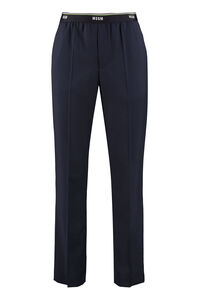 Virgin wool trousers, Formal trousers MSGM man