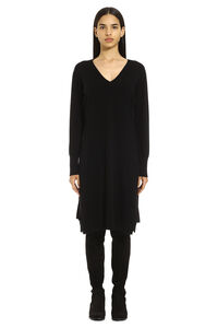 Wool blend sweater dress, Knee Lenght Dresses Fabiana Filippi woman