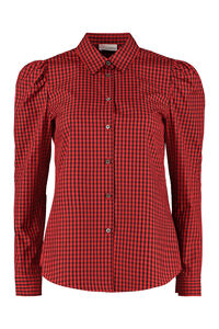 Long sleeve cotton blend shirt, Shirts Red Valentino woman